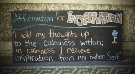 Affirmation for Inspiration